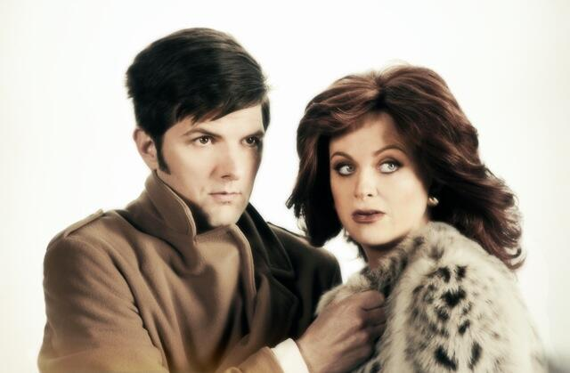 "Amy Poehler and Adam Scott in ""The Greatest Event in Television History: Hart to Hart"""