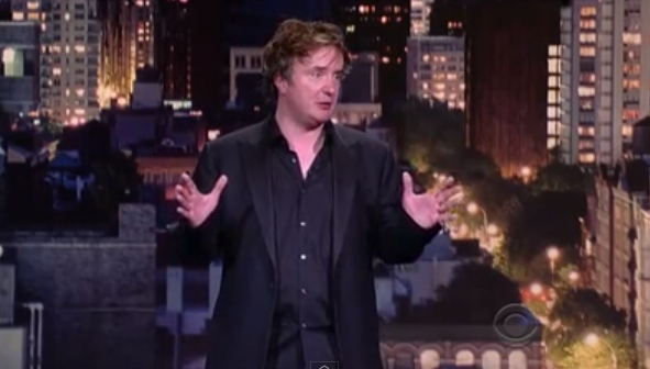 Dylan Moran on Late Show with David Letterman