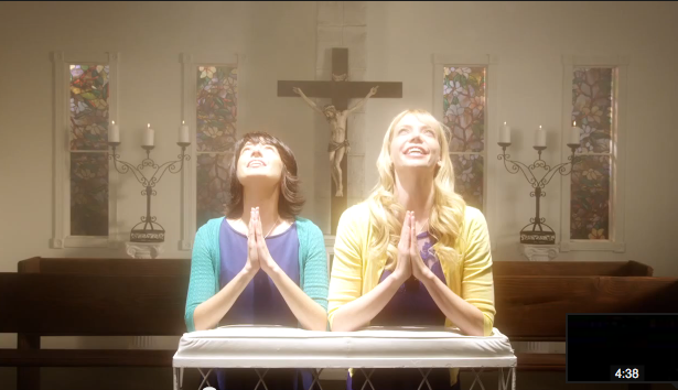 "Garfunkel and Oates in ""The Loophole"""