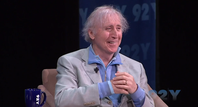 Gene Wilder looks back on his career in 92Y talk