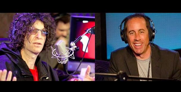 Jerry Seinfeld talks comedy for 90 minutes with Howard Stern