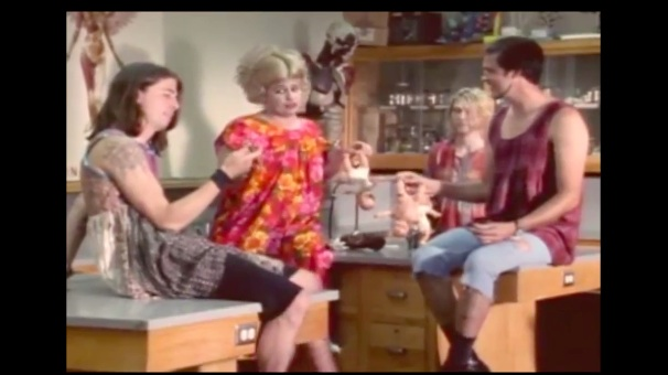 "Nirvana reissues ""In Utero"" for 20th anniversary with #TBT 1993 commercial featuring Bobcat Goldthwait"