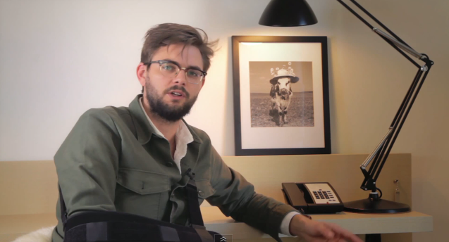 """Nick Thune documents his comeback from injury in the short film, """"Disarmed"""""""