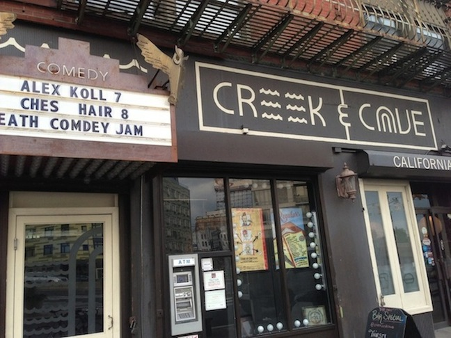 Week At The Creek: A residency for headliners to work out new hours of stand-up comedy