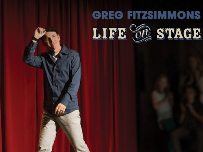 "Greg Fitzsimmons, ""Life On Stage,"" CD/DVD"