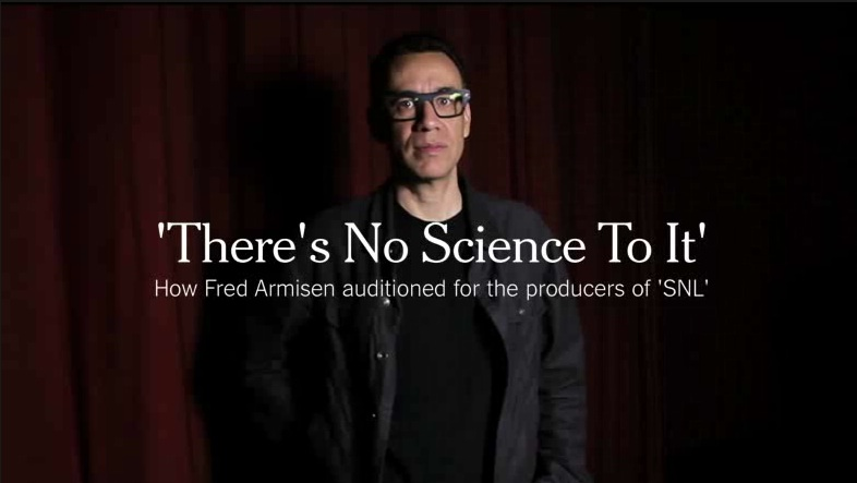 Fred Armisen and dozens more recount their SNL auditions for the New York Times