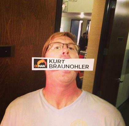 Kurt Braunohler reveals fun things to do to strangers, strange things about his childhood, on Conan