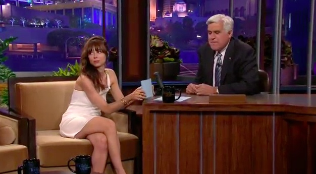 Natasha Leggero roasts Jay Leno on The Tonight Show