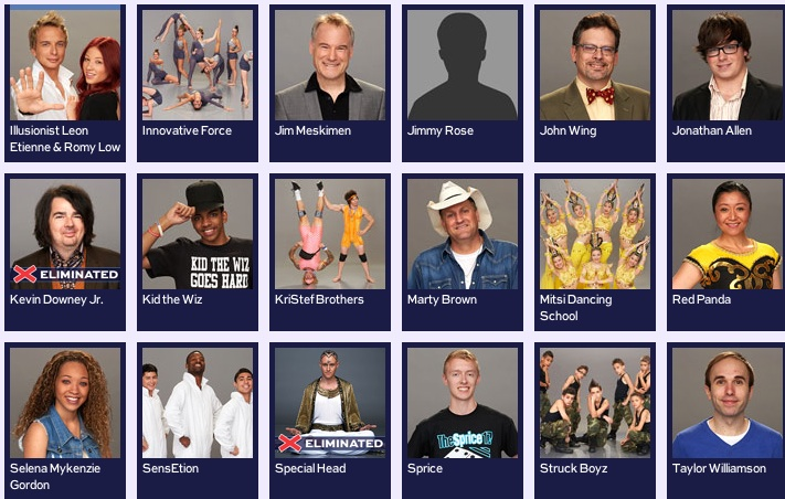 America's Got Talent 2013 Contestants