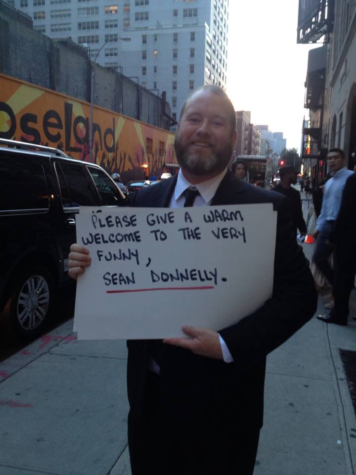 Sean Donnelly's network TV debut on Late Show with David Letterman