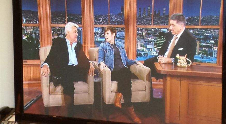 Cameron Esposito's network TV debut on Late Late Show with Craig Ferguson, co-starring Jay Leno!?!