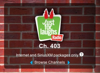 Just For Laughs Radio launches on SiriusXM