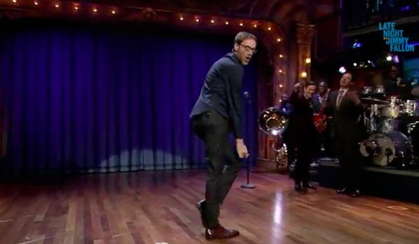 Watch Stephen Merchant challenge Jimmy Fallon, Joseph Gordon Levitt to a lip sync-off
