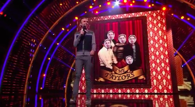 Taylor Williamson's performance in the Top 12 of America's Got Talent 2013