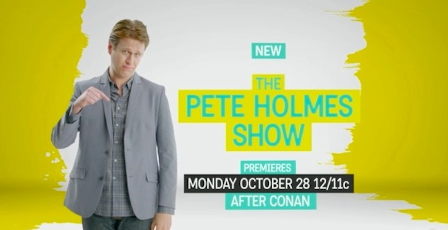 "TBS offers a ""Sneak Pete"" at The Pete Holmes Show"