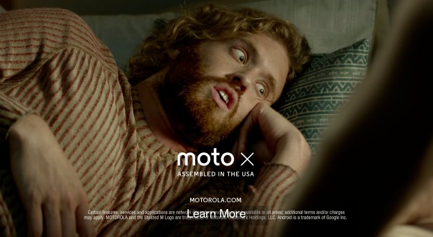 "T.J. Miller's ""Lazy Phone"" ads for Motorola's Moto X are a hit on YouTube"