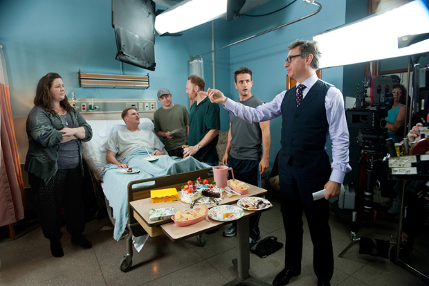 """""""The Heat"""" and """"Bridesmaids"""" director Paul Feig on editing the improvised scenes in a movie"""