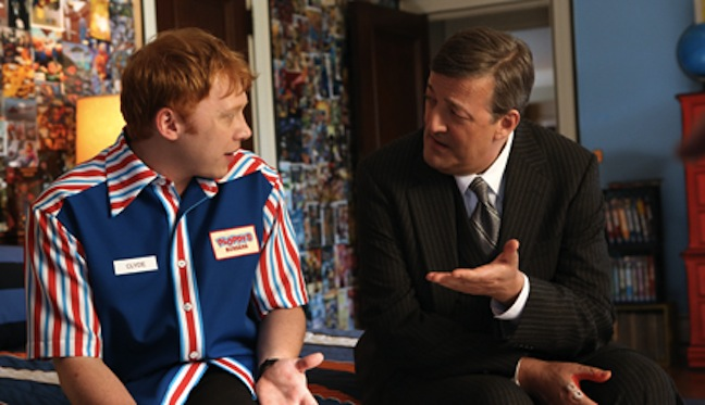 "Watch the pilot for ""Super Clyde"" that could have made Rupert Grint and Stephen Fry part of the CBS network"