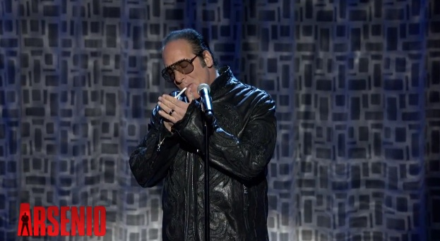 "Andrew ""Dice"" Clay performs his classic nursery rhymes on The Arsenio Hall Show"