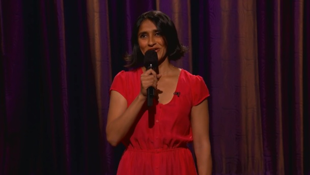 Aparna Nancherla's TV stand-up debut on Conan