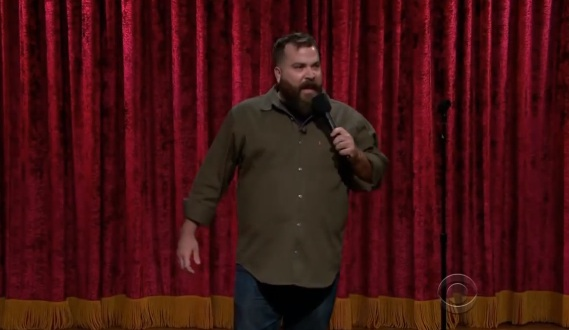 Dave Stone's network TV debut on Late Late Show with Craig Ferguson