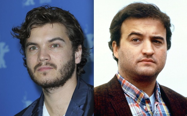 Emile Hirsch to star as John Belushi in big-screen biopic