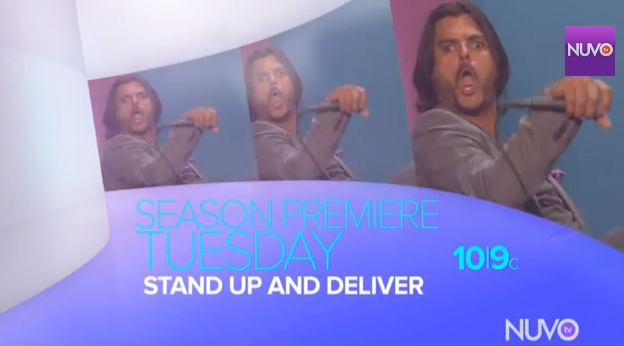 "Season two of ""Stand Up and Deliver"" on NUVOtv"