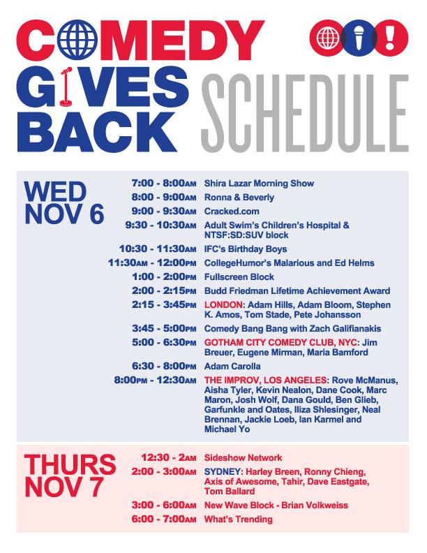 CGB-Schedule