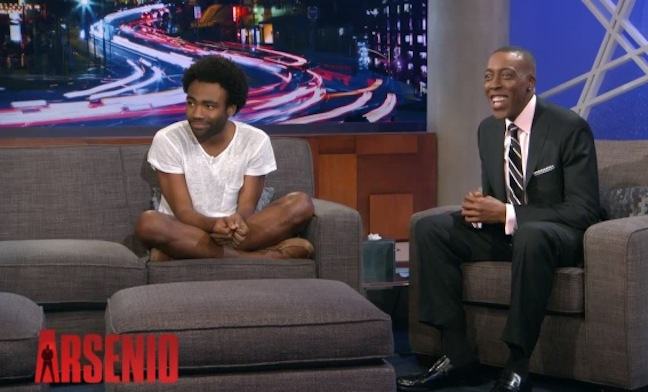 """As """"Childish Gambino,"""" Donald Glover performs on Arsenio, explains his current thoughts and goals"""