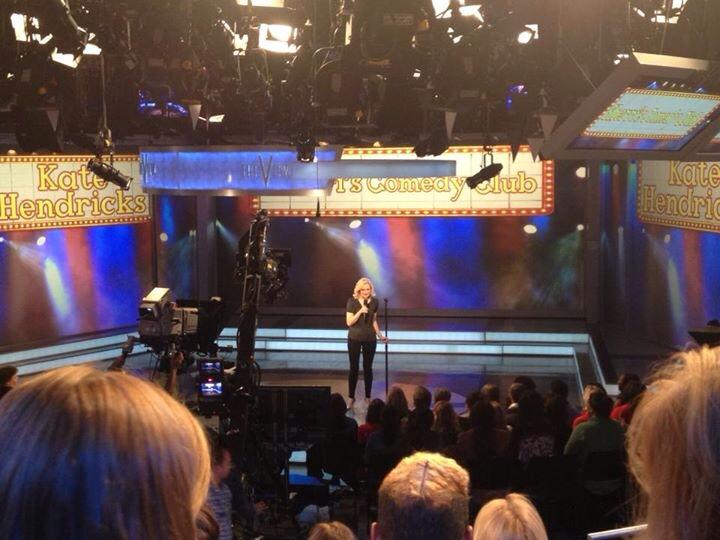 Kate Hendricks performs on The View