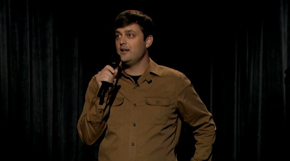 "Jimmy Fallon announces Nate Bargatze's NBC development deal in his ""Late Night"" intro"