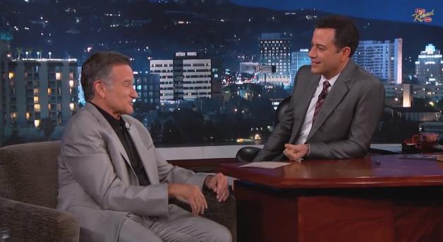 Robin Williams tells Jimmy Kimmel why he still performs improv