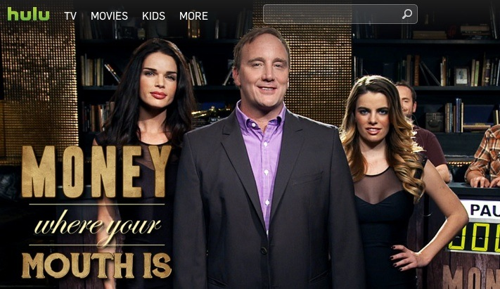 """Jay Mohr hosts """"Money Where Your Mouth Is,"""" a 15-minute game show on Hulu"""