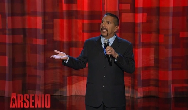 Steven Michael Quezada, Breaking Bad's Agent Gomez, performs stand-up on The Arsenio Hall Show