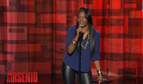 Tiffany Haddish on The Arsenio Hall Show