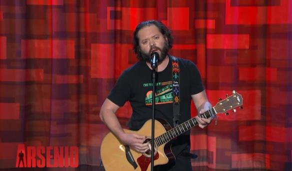 J Chris Newberg on The Arsenio Hall Show