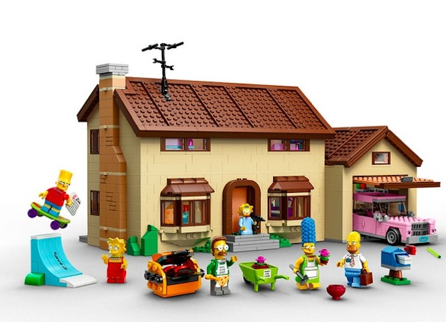 LEGO unveils The Simpsons house and character set