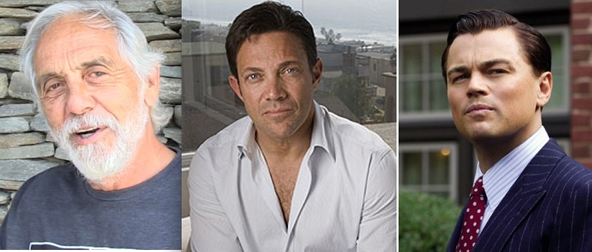 """Tommy Chong and his friend from federal prison, cellmate Jordan Belfort """"The Wolf of Wall Street"""""""