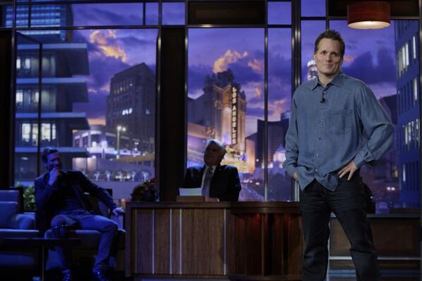 Adam Hunter on The Tonight Show with Jay Leno