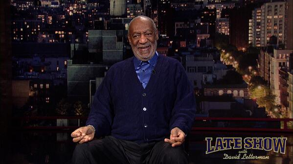 Bill Cosby on being a grandfather, on Late Show with David Letterman