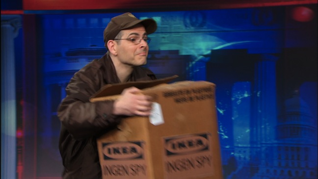 The Daily Show with Jon Stewart carved out a Moment of Zen just for Tim Carvell