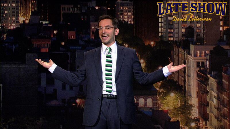 Myq Kaplan on Late Show with David Letterman