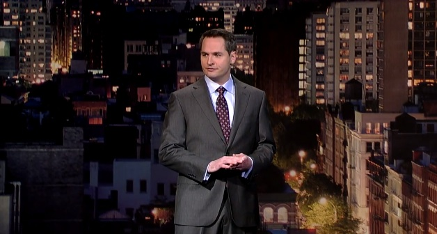 Pat McGann's network TV debut on Late Show with David Letterman