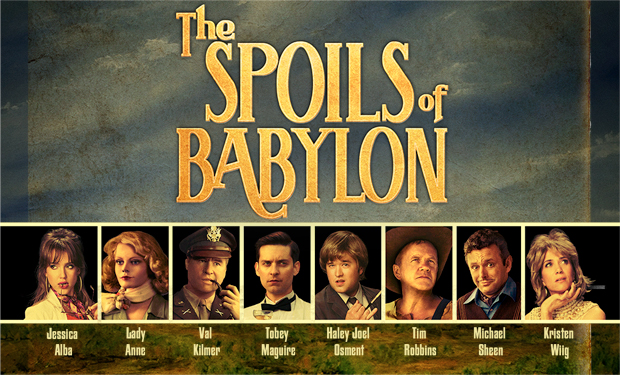 "IFC's multi-generational miniseries parody, ""The Spoils of Babylon"""