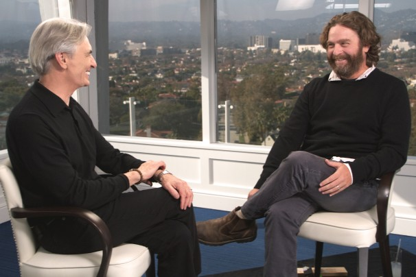 "David Steinberg's season 3 premiere of ""Inside Comedy"" on Showtime with Zach Galifianakis, Jimmy Fallon"