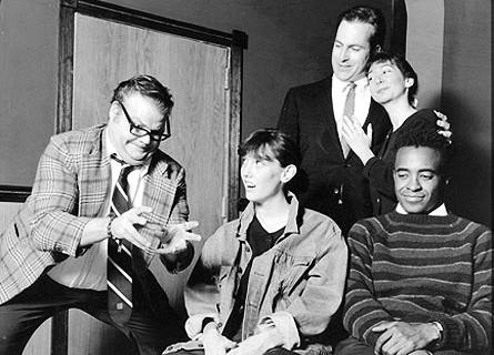 """Chris Farley's debut as Matt Foley in """"Motivation"""" from The Second City, 1990"""