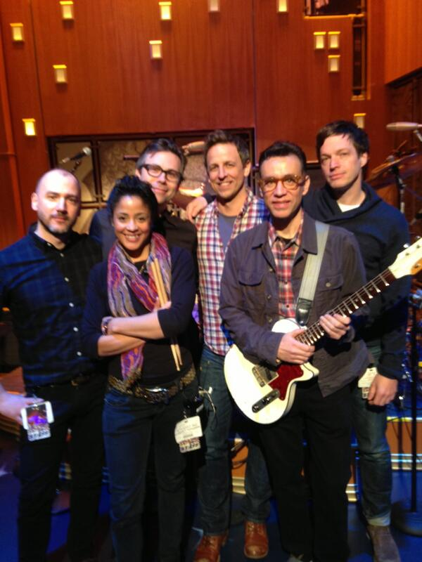 Fred Armisen to lead, curate Late Night with Seth Meyers band