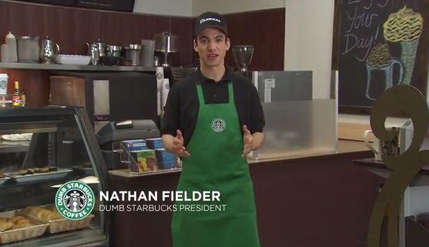 Nathan Fielder's Dumb Starbucks draws a crowd
