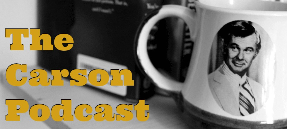 """""""The Carson Podcast"""" with Mark Malkoff"""