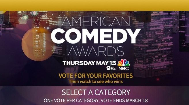 Here are your nominees for the 2014 American Comedy Awards: Vote now!